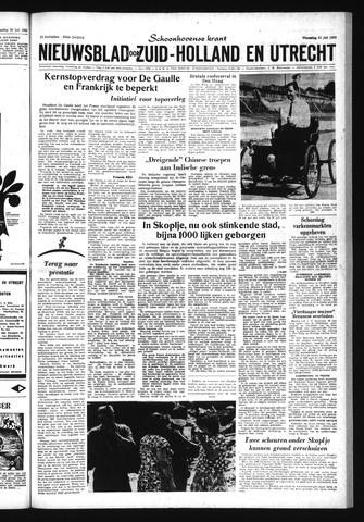 Schoonhovensche Courant 1963-07-31
