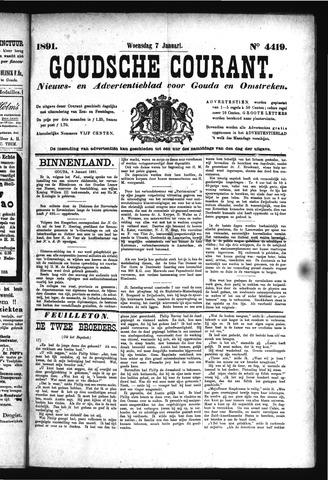 Goudsche Courant 1891-01-07