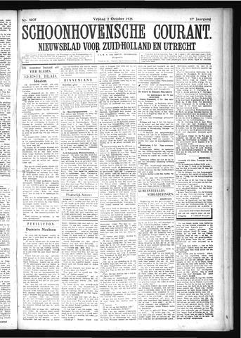 Schoonhovensche Courant 1925-10-02