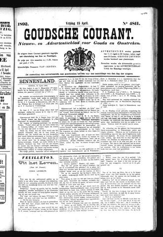 Goudsche Courant 1892-04-15