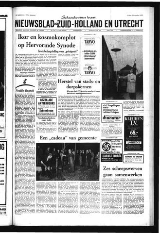 Schoonhovensche Courant 1971-11-05