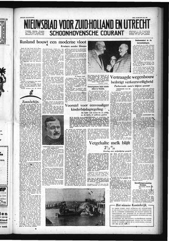 Schoonhovensche Courant 1954-10-29