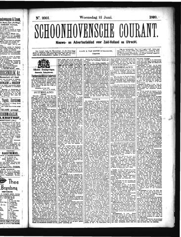 Schoonhovensche Courant 1899-06-21