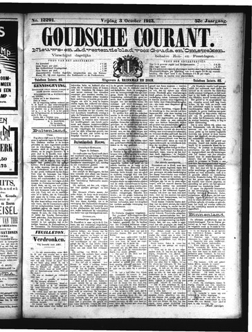 Goudsche Courant 1913-10-03