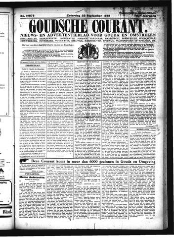 Goudsche Courant 1928-09-22
