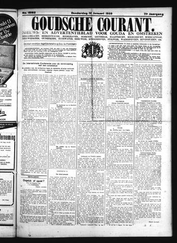 Goudsche Courant 1933-01-12