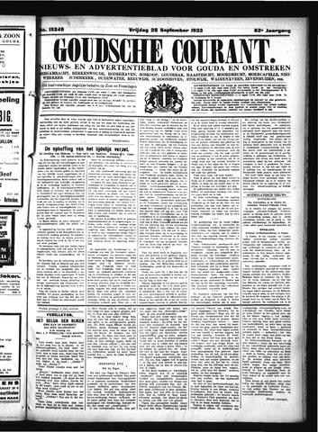Goudsche Courant 1923-09-28