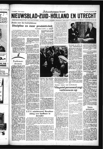 Schoonhovensche Courant 1963-11-13