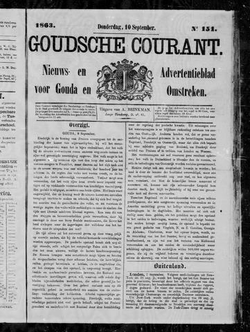Goudsche Courant 1863-09-10