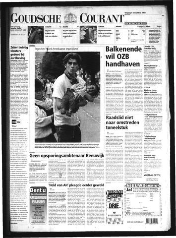 Goudsche Courant 2002-11-01