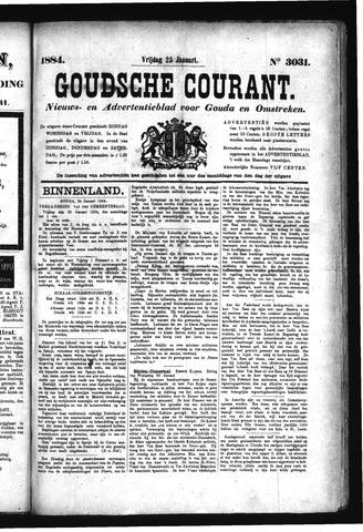 Goudsche Courant 1884-01-25