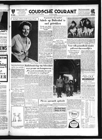 Goudsche Courant 1958-04-29