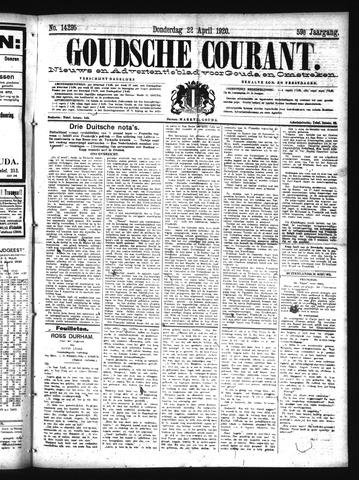 Goudsche Courant 1920-04-22