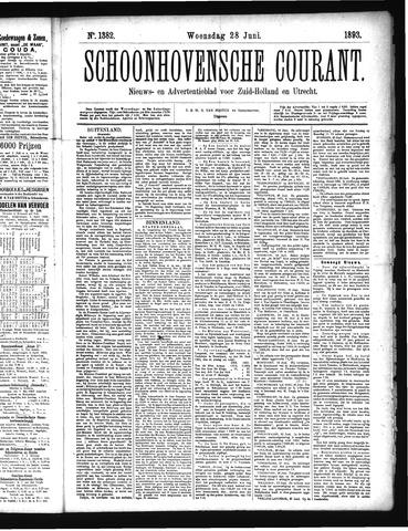 Schoonhovensche Courant 1893-06-28