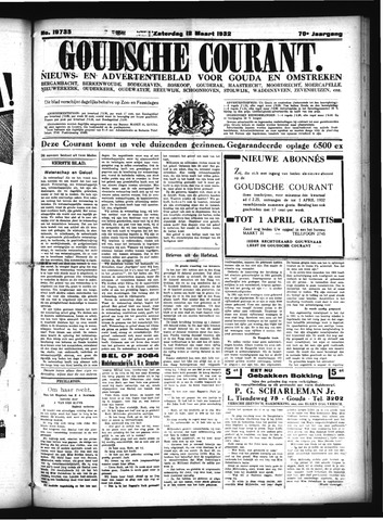 Goudsche Courant 1932-03-12