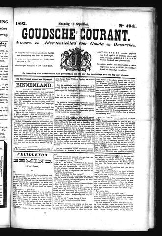 Goudsche Courant 1892-09-19