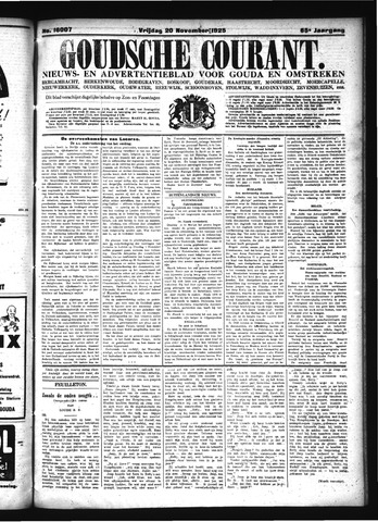 Goudsche Courant 1925-11-20