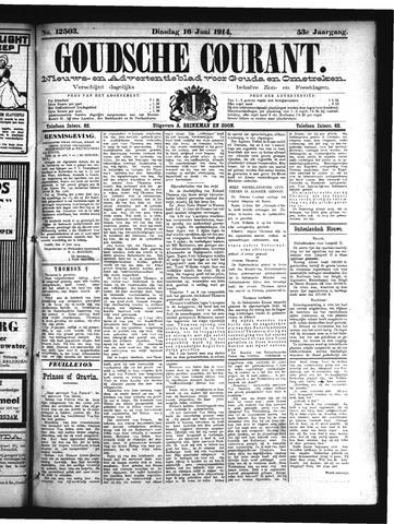 Goudsche Courant 1914-06-16