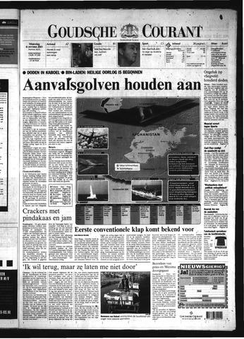 Goudsche Courant 2001-10-08