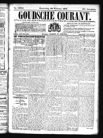 Goudsche Courant 1919-02-20