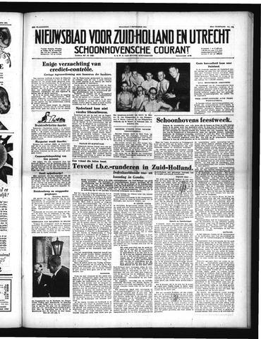 Schoonhovensche Courant 1951-09-03