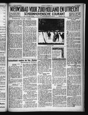 Schoonhovensche Courant 1940-12-23