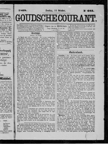 Goudsche Courant 1868-10-11