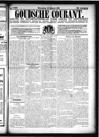 Goudsche Courant 1931-01-21
