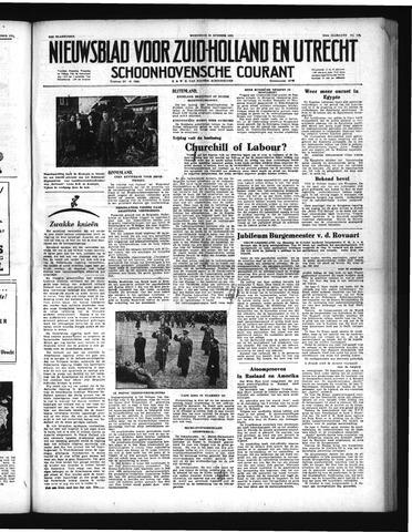 Schoonhovensche Courant 1951-10-24