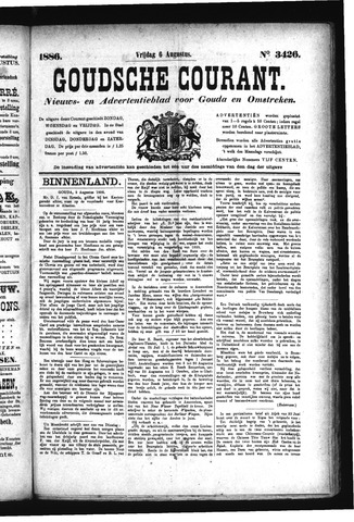 Goudsche Courant 1886-08-06