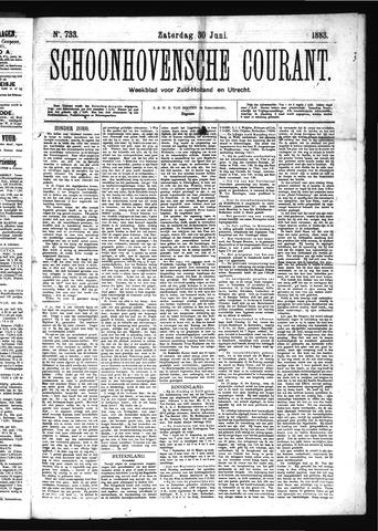 Schoonhovensche Courant 1883-06-30
