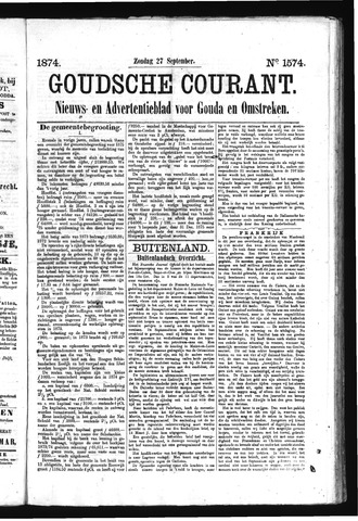 Goudsche Courant 1874-09-27