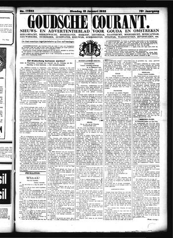 Goudsche Courant 1932-01-12