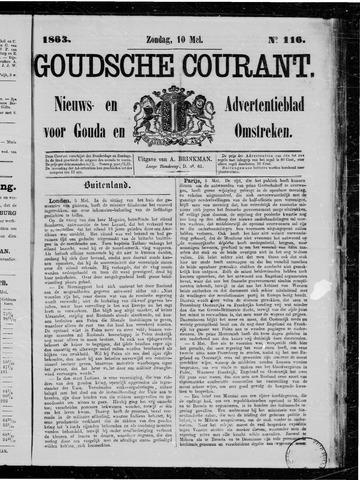Goudsche Courant 1863-05-10