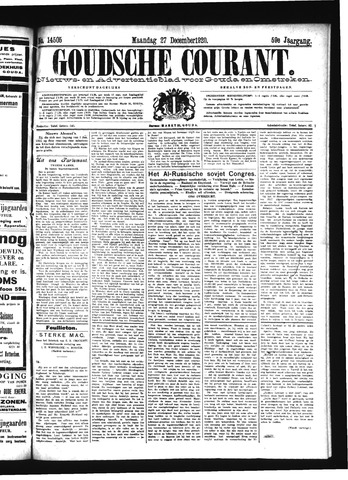 Goudsche Courant 1920-12-27