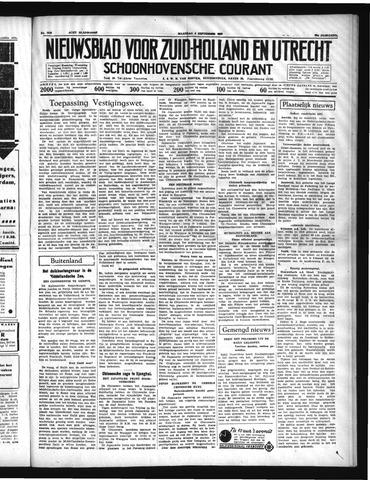 Schoonhovensche Courant 1937-09-06
