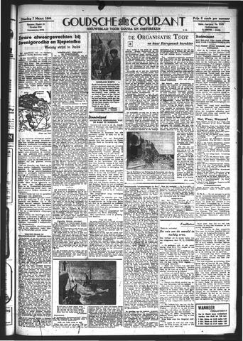 Goudsche Courant 1944-03-07
