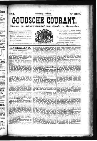 Goudsche Courant 1884-10-01