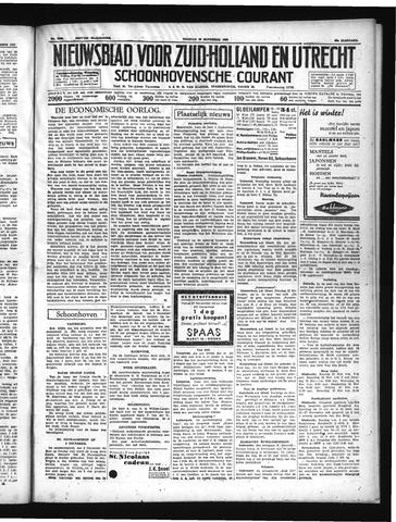 Schoonhovensche Courant 1937-11-19