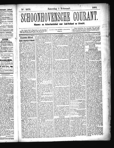 Schoonhovensche Courant 1902-02-01