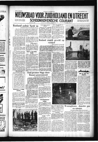Schoonhovensche Courant 1956-11-26