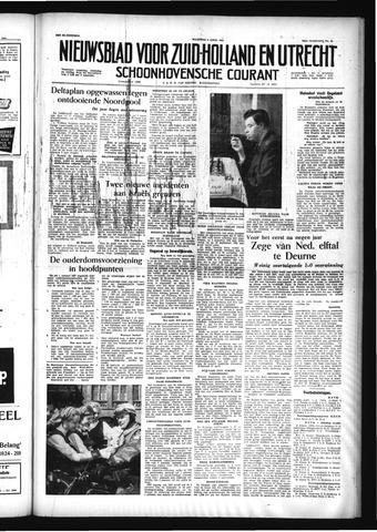 Schoonhovensche Courant 1956-04-09