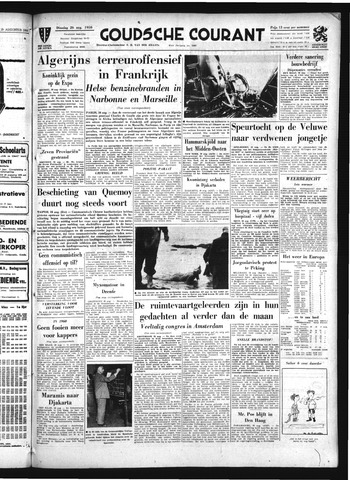 Goudsche Courant 1958-08-26