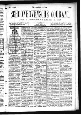 Schoonhovensche Courant 1920-06-02