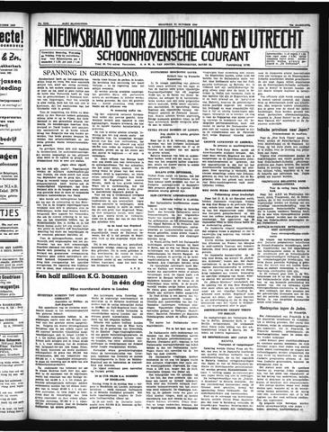 Schoonhovensche Courant 1940-10-21