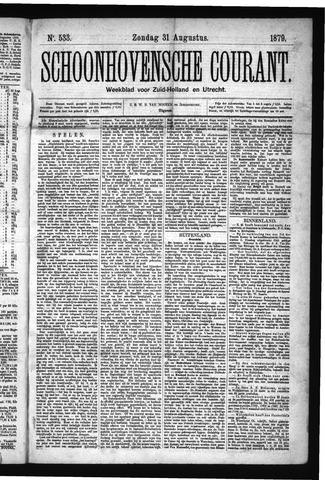 Schoonhovensche Courant 1879-08-31