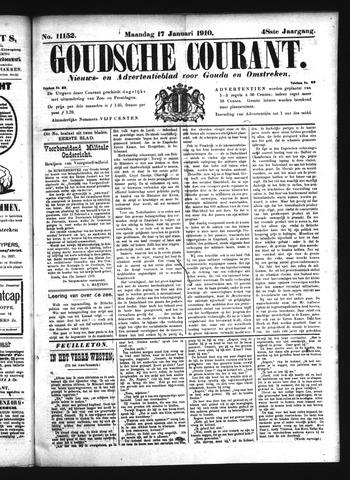 Goudsche Courant 1910-01-17