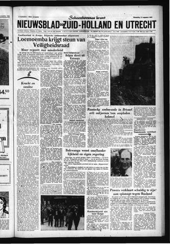 Schoonhovensche Courant 1960-08-10