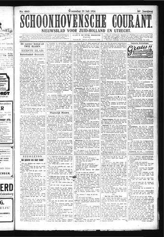 Schoonhovensche Courant 1924-07-23