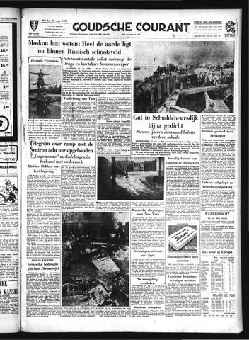 Goudsche Courant 1957-08-27